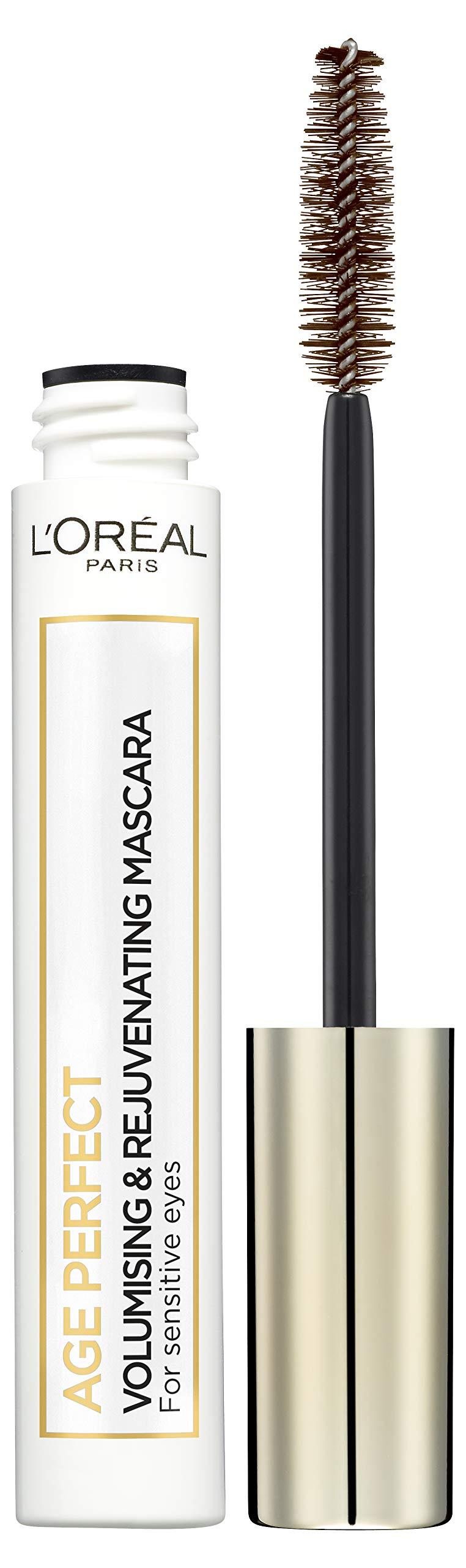 L'Oréal Paris Make-up designer Age Perfect Máscara Volumen y Cuidado Marron – 7.4 ml