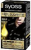 Syoss - Coloration Permanente Cheveux Oléo Suprême - Noir Intense 1-10