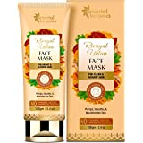 Oriental Botanics Rivayat Ubtan Face Mask For Bright And Glowing Skin With Saffron, Rose And Turmeric Extract (For Normal Ski