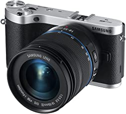 Samsung NX300 20.3MP CMOS Smart WiFi Compact Interchangeable Lens Digital Camera with 18-55 mm Lens and 3.3-inch AMOLED Touchscreen (Black)