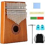 Kalimba 17 Clés Piano à pouce Professionnel Instrument de Musique avec Accessoires Doigt En Bois De Haute Qualité avec…