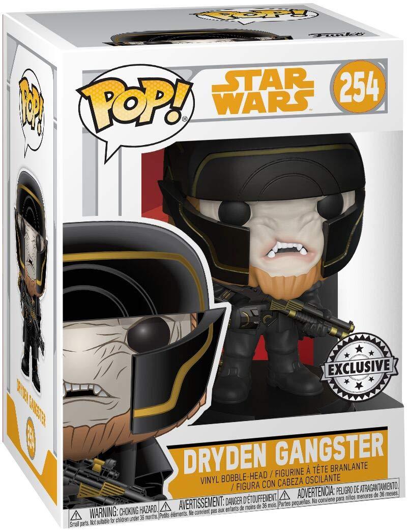 Funko Pop Dryden Gangster – Target (Star Wars 254) Funko Pop Han Solo: Una Película de Star Wars