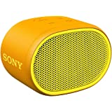 Sony SRS-XB01 tragbarer Bluetooth Lautsprecher (Extra Bass, 6h Akku, Spritzwassergeschützt) gelb