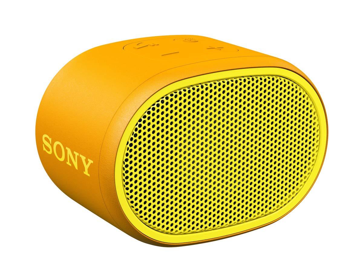 Sony – Altavoz inalámbrico portátil (Compacto, Bluetooth, Extra Bass, 6h de batería, Resistente al Agua IPX5, Viene con Correa)