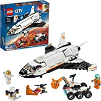 LEGO 60226 City La Navette Spatiale, Jouet de Construction de vaisseaux spatiaux pour Enfants inspirés de la NASA avec…