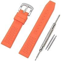 Vinband Cinturini Orologi Alta qualità Orologi Bracciale in Caucciù - 16mm, 18mm, 20mm, 22mm, 24mm Gomma Cinturino…