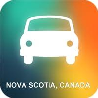 Nova Scotia, Kanada GPS
