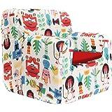 SLEEPAA Sillon bebe 1-4 años Desenfundable Lavable Resistente Seguro Ligero Cómodo Decoracion muebles niños Fabricado en Espa