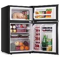 LEONARD USA 115 L Inverter Double Door Mini Refrigerator/Small Fridge with Separate Deep Freezer Compartment & Interior…