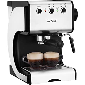 Excelvan 4 Cup 800w 35bar Mini Steam Espresso And
