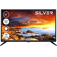 """TV LED Silver 32"""" HD Ready Smart Android"""