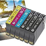 OGOUGUAN 502XL Cartucce Sostituzione per Epson 502 XL Cartucce d'inchiostro per Epson Workforce WF-2860DWF WF-2865DWF WF2860