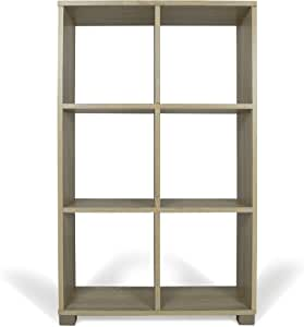 Beige TrendyItalia 12965 Libreria Rovere 60 x 24 x 68 cm Legno
