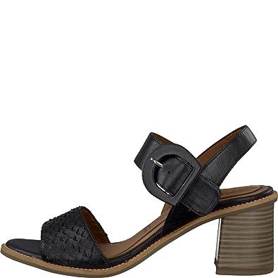 315dd317 Tamaris Woman Sandal Black: Amazon.co.uk: Shoes & Bags