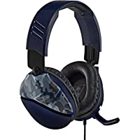 Turtle Beach Recon 70 Cuffie Gaming, PS4, Nintendo Switch, Xbox One e PC, Xbox One, Blu (Camo)