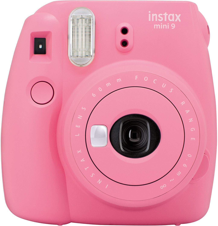 Fujifilm Instax Mini 9 – Cámara instantánea, Solo cámara, Rosa