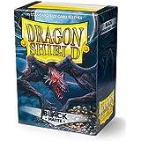 Dragon Shield- Bustine per Carte, Colore Black, 1