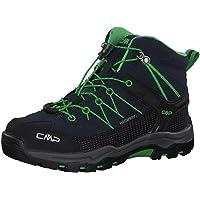 CMP Kids Rigel Mid Trekking Shoe WP, Scarpe da Arrampicata Alta Unisex-Adulto