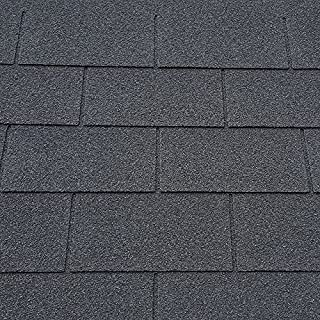 Roofing Felt Shingles | Shed Roof Felt | Square Butt | 4 Tab (Black)