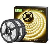 LE 5M Warm Wit LED-Strookset, 2 Stuks, 12V LED-Stroken, Zelfklevende LED-Stroken, Flexibele LED-Strook, LED-Strook, LED-Licht
