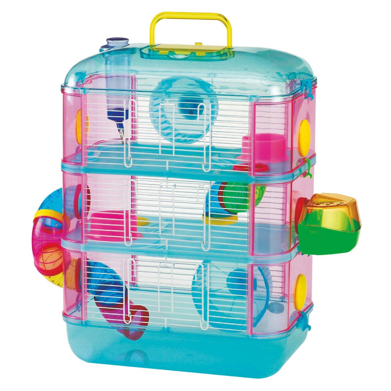 Comprar Arquivet Gran Canaria - Jaula para roedores, colores Surtidos, 40 x 26 x 53 cm - Tiendas Online con Envíos Baratos o Gratis
