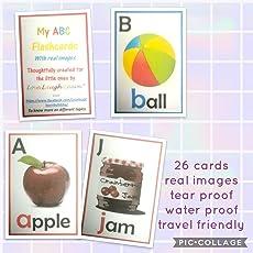 Alphabets Flashcards Non-Tear Waterproof