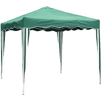 Hamble Blackspur Green Pop Up Gazebo, 2.5m x 2.5m