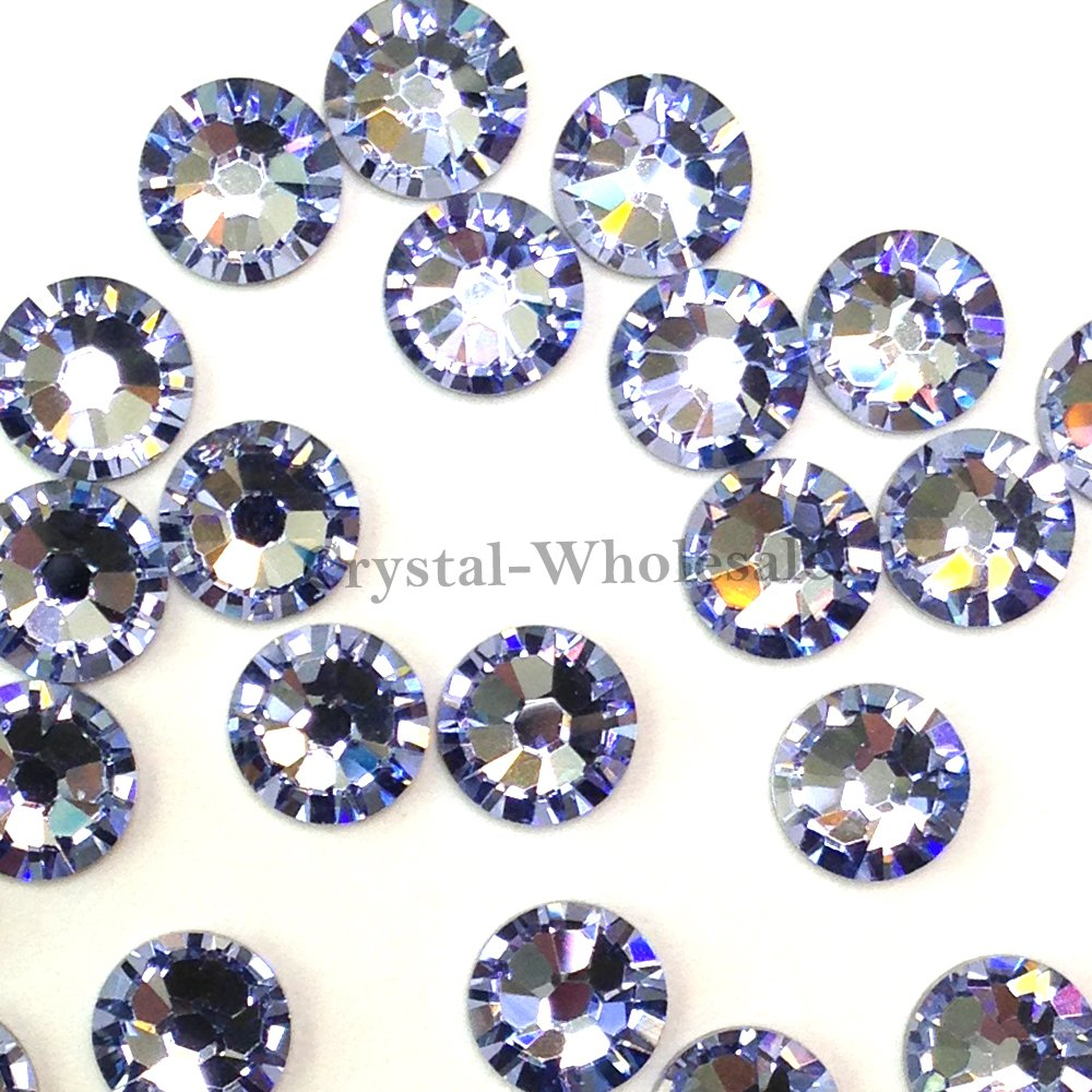 144Swarovski 2028/203820SS SS20Hotfix Crystal Flatbacks Provence Lavender a HF