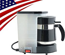 BRAHMAS COFFEE MAKER (110 Volts) FOR USA & CANADA ONLY WITH FREE 2 STAINLESS STEEL TUMBLERS