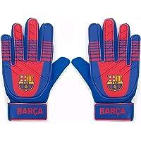 FC Barcelona Boys Gloves Goalie Goalkeeper Kids Youths OFFICIAL Football Gift