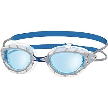 Zoggs Predator Gafas de Natación, sin Género, Gris (White/Blue/Tint), Talla única