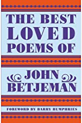 Best Loved Poems of John Betjeman Hardcover