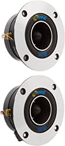 Pyle Pro Pdbt19 Horn Bullet 9 52 Cm Titanium Dome Tweeter With Sound Around Musical Instruments