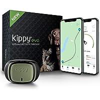 KIPPY - Evo - Le Nouveau Collier GPS avec Suivi d'Activité pour Chiens et Chats, 38 GR, Waterproof, durée 10 Jours…