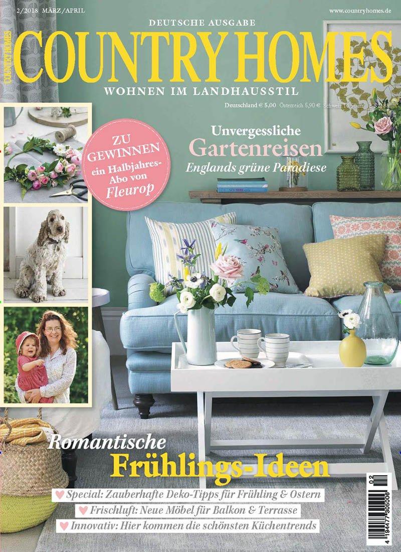 Country Homes [Abonnement jeweils 6 Ausgaben jedes Jahr]: Amazon.de ...