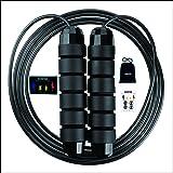 Springtouw Springtouw Training Skip Rope Comfortabele hoge snelheid springtouw Kwartelvrij verstelbare springtouw Sport oefen