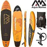 "Aqua Marina Fusion 10'10"" aufblasbares Sup Board - Stand up Paddelboard aufblasbar, inkl. Pumpe, Finne, Tragetasche"