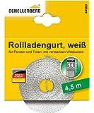 Schellenberg 44503 Rollladengurt 14 mm x 4,5 m - System MINI, Rolladengurt, Gurtband, Rolladenband