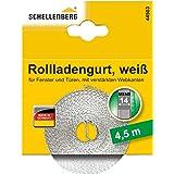Schellenberg 44503 rolluikriem 14 mm x 4,5 m - systeem MINI, rolluikriem, riem, rolluikband