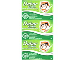 Dabur Sanitize Germ Protection Soap - 75Gm (Pack Of 12)
