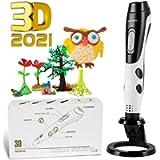 GIANTARM Penna 3D Professionale Penna 3D Stampa + 12 Colori Set filamento PLA, Temperatura Regolabile/velocità, ugello…