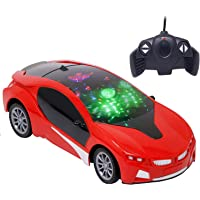 Zest 4 Toyz Wireless Remote Control High Speed 3D Famous Car with Light | Remote Control car for Boys (Assorted Color)