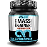 Abbzorb Nutrition Mass Gainer Vitamins(B,C,D) Minerals (Calcium, Iron, Zinc) | with Digestive Enzymes (Chocolate, 1 Kg)