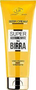Beer Cream, crema super abbronzante alla Birra viso e corpo in tubo (1x100ml) - LR Wonder Company