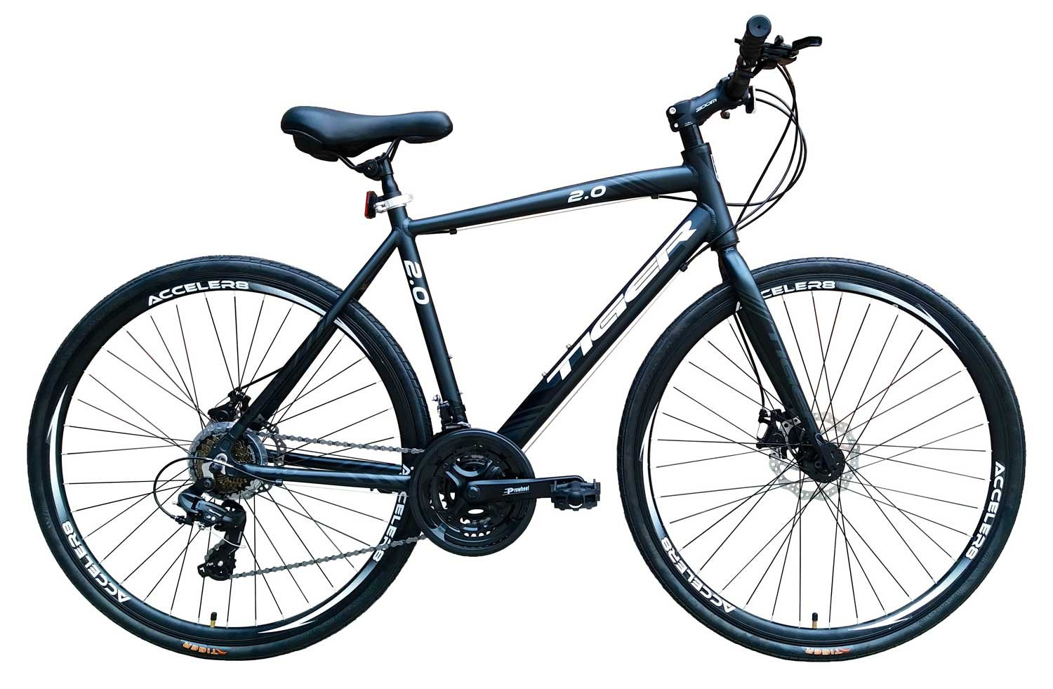 71A9Qnuab7L - Tiger Legend 2.0 Alloy Sports Hybrid Bike