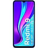 Redmi 9 (Sky Blue, 4GB RAM, 64GB Storage)| 5000 mAh| 2.3GHz Mediatek Helio G35 Octa core Processor