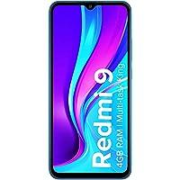 Redmi 9 (Sky Blue, 4GB RAM, 64GB Storage) | Extra INR 300 Cashback as Amazon Pay Balance