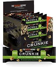 THE PROTEIN WORKS Protein Crunkies, Apfel-Zimt-Strudel, 12er-Box