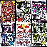 6 bogen Aufkleber Zkp selbstklebend Stickers rockstar energy drink BMX moto-cross decals Abziehbilder MX