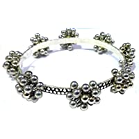Gurjari Jewellers Oxidised Gajra Gugru Bangles Set of 2 …